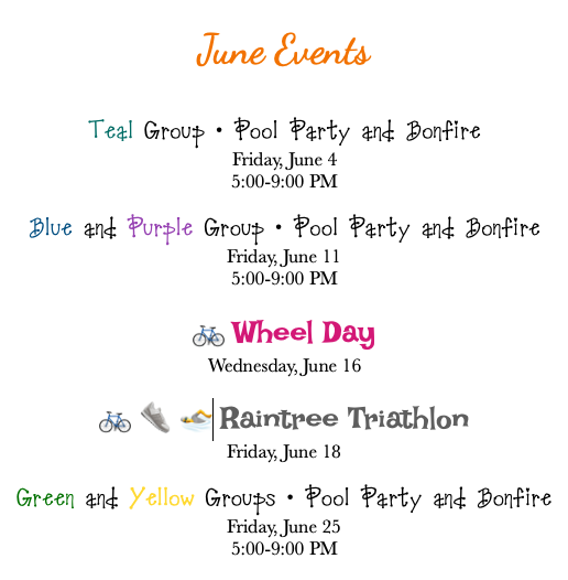 Camp June Events